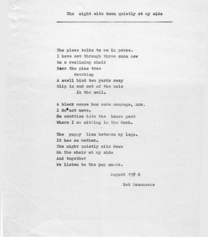 poesie Natscammacca Inglese – 0040